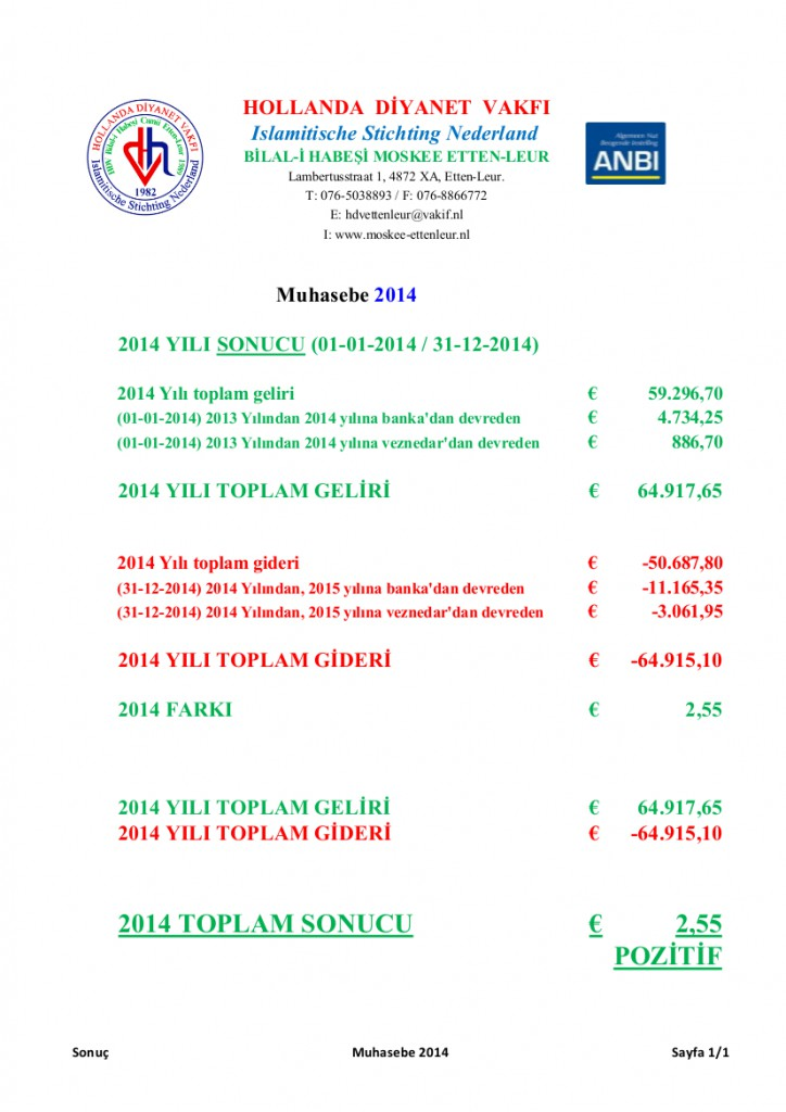 Muhasebe 2014 Website