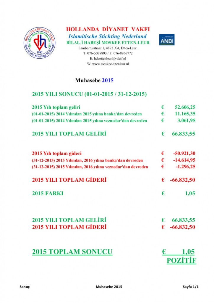 Muhasebe 2015 Website