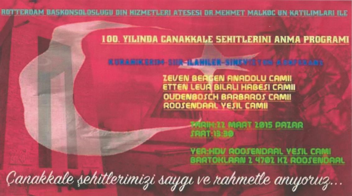 Canakkale 2015 afisi