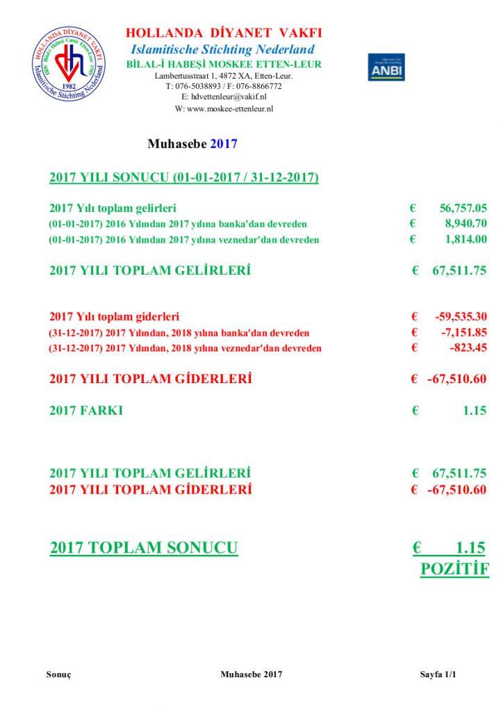 Muhasebe 2017 Website
